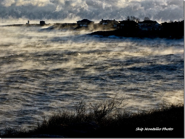 Sandy Bay Sea Smoke