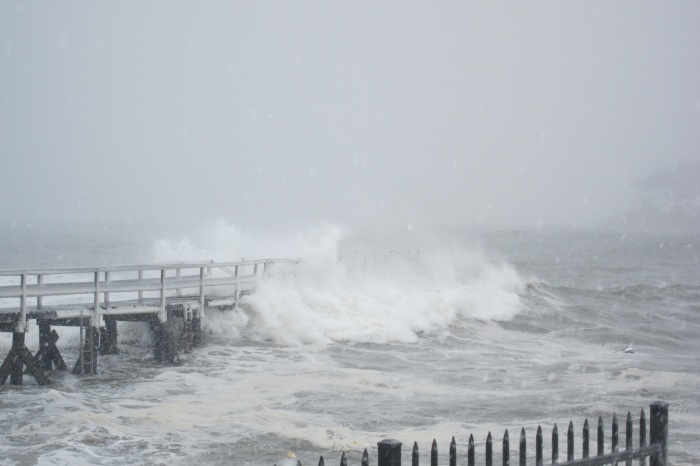 2 pier pic at high tide