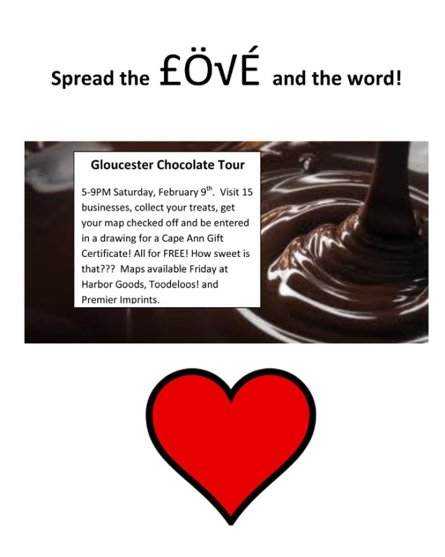 Chocolate Tour for Downtown Gloucester