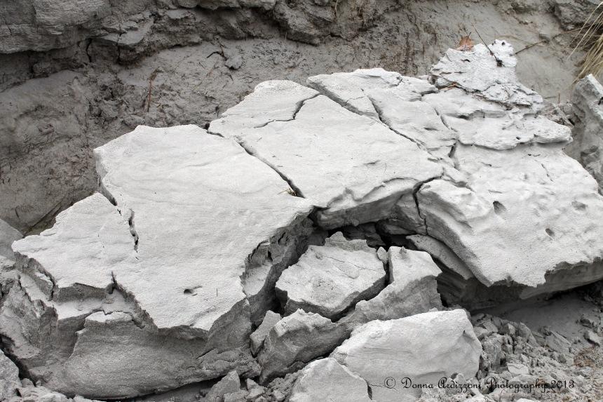 February 16, 2013 frozen sand