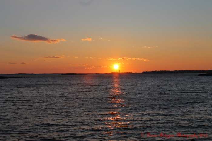 February 6, 2013 Sun going down in Magnolia