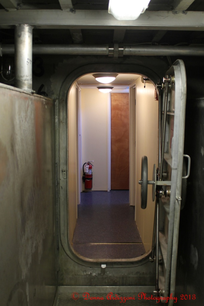 February 7, 2013 doors towards the engine room a