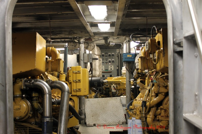February 7, 2013 Engine Room of the