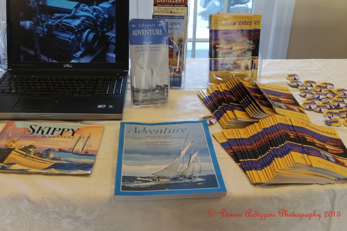 February 7, 2013 schooner adventure and Discover Gloucester