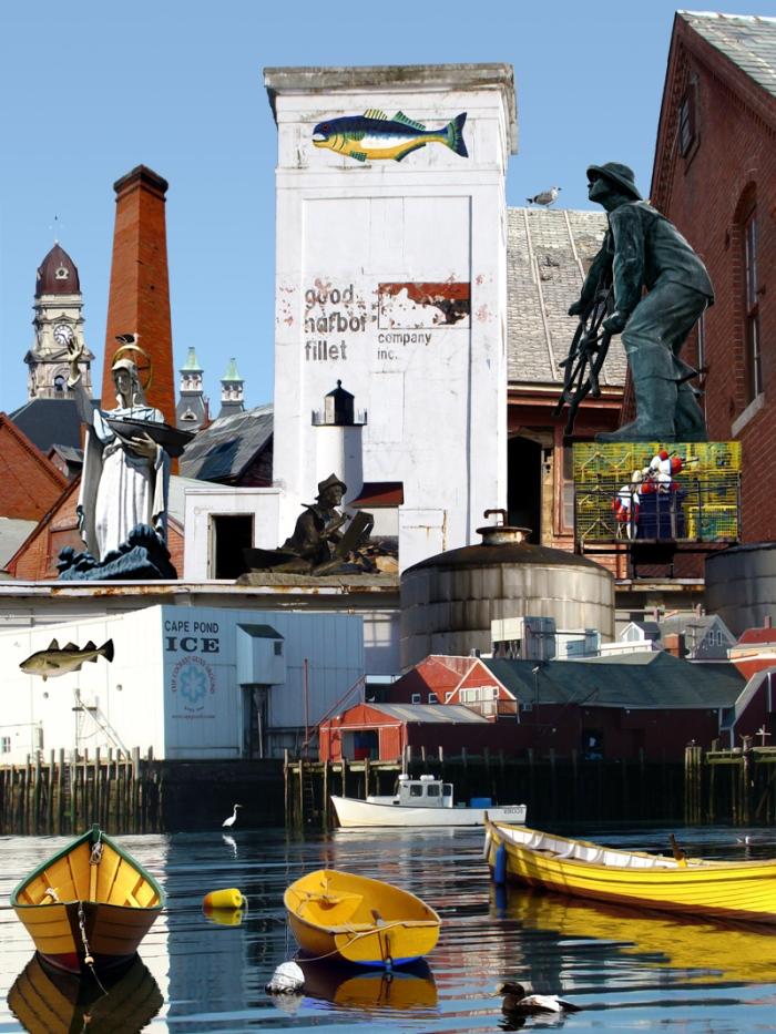 gloucester harbor collage copy