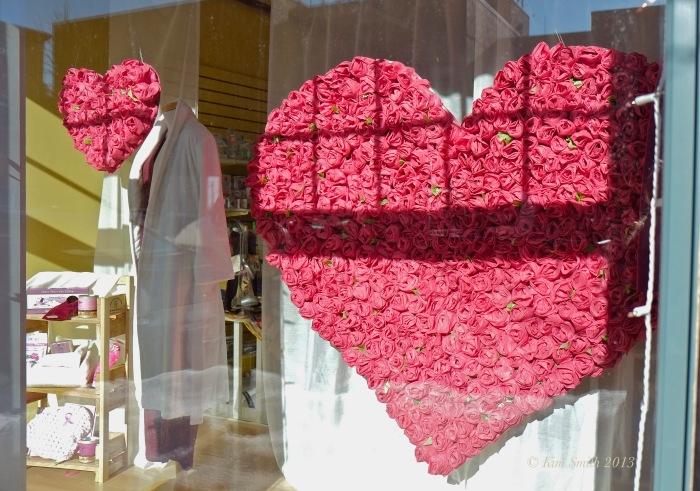 Happy Valentine's day rose heart ©Kim Smith 2013
