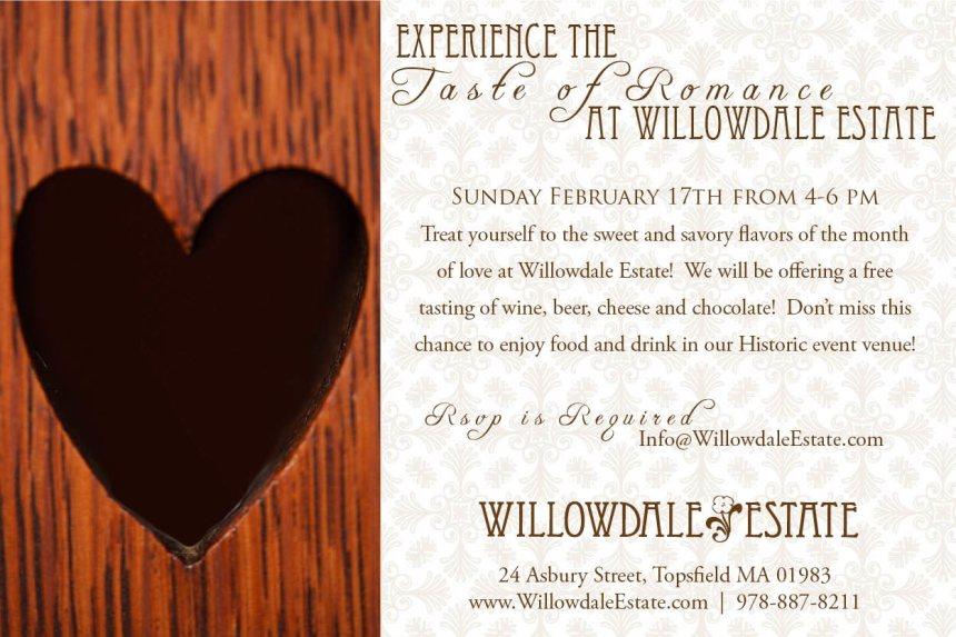 Willowdale Estate A Taste of Romance