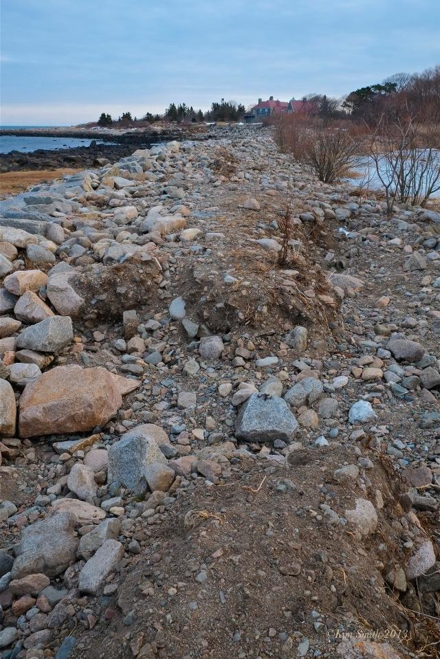 Niles Pond Brace Cove Storm Damage -1 ©Kim Smith 2013 copy