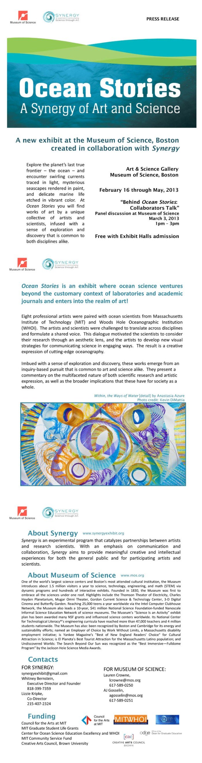 ocean stories with Karen Ristuben