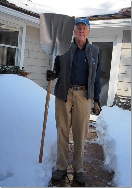 The Perfect Snow Shovel