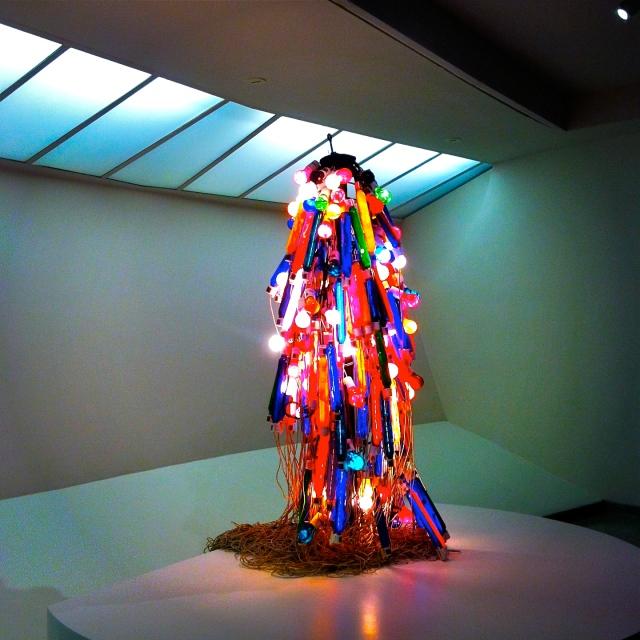 Atsuko Tanaka Electric Dress©Liv Hauck