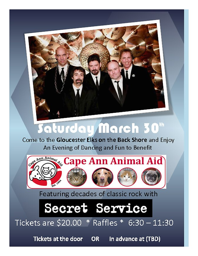 Cape Ann Animal Aid Secret Service