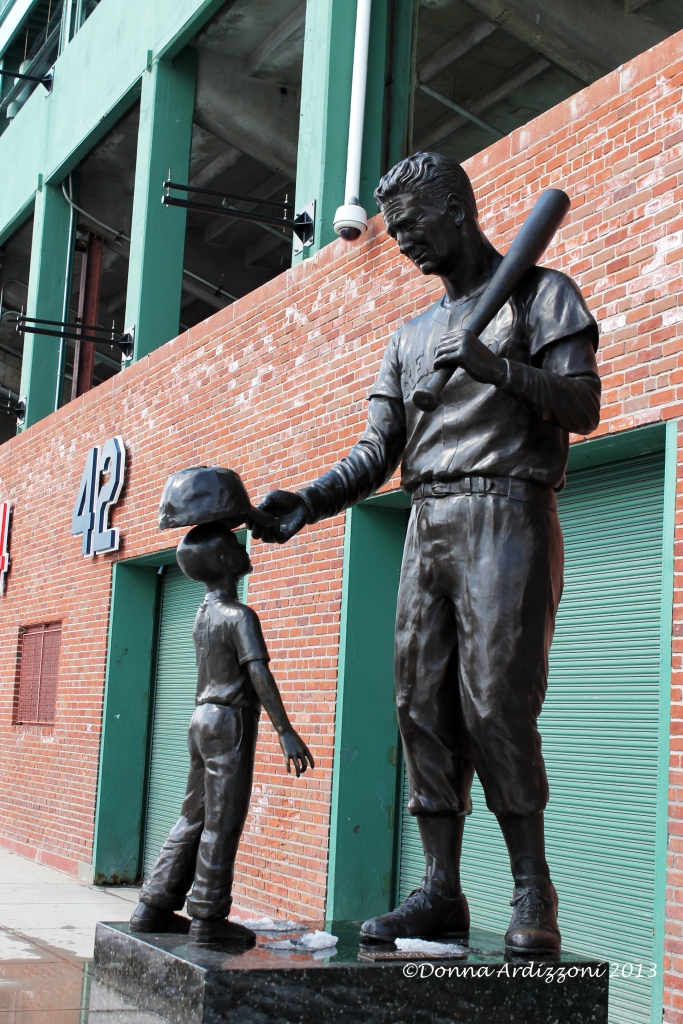 march 20, 2013 Ted Williams and Child