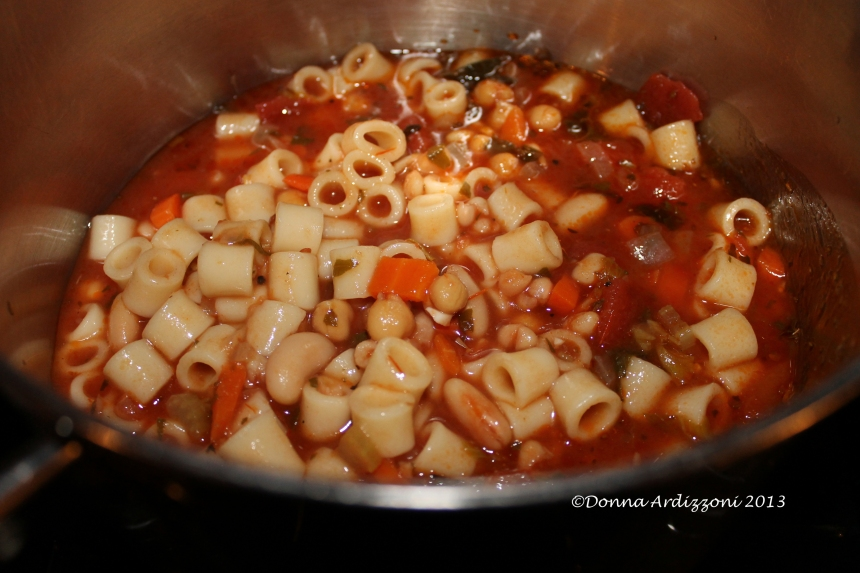 March 24, 2013 The minestrone soup ever