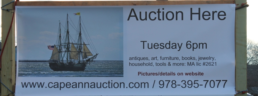 Auction tonight at 6:00 pm Magnolia Library