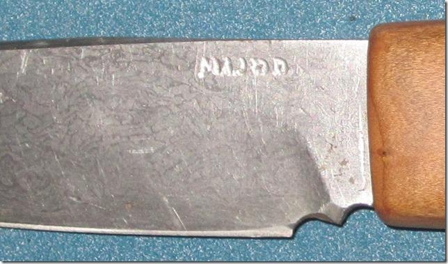 Seaman's knife from Harley chaiin