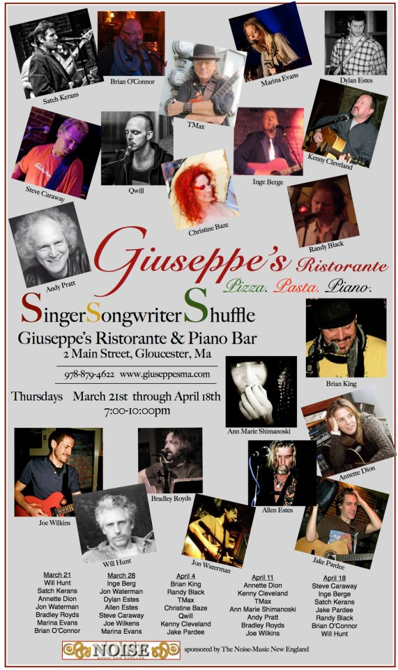 singer songwriter giuseppes thursdaysupdate