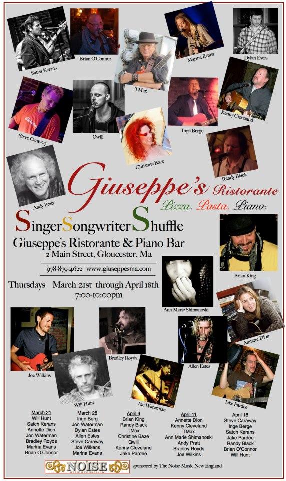 singer songwriter giuseppes thursdaysupdate