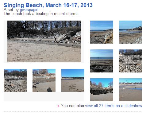 singing beach erosion