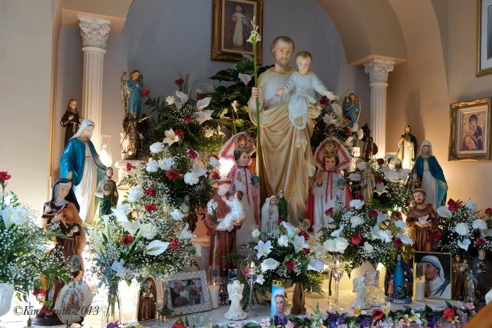 St. Joseph Day Altar ©Kim Smith 2013.-2.