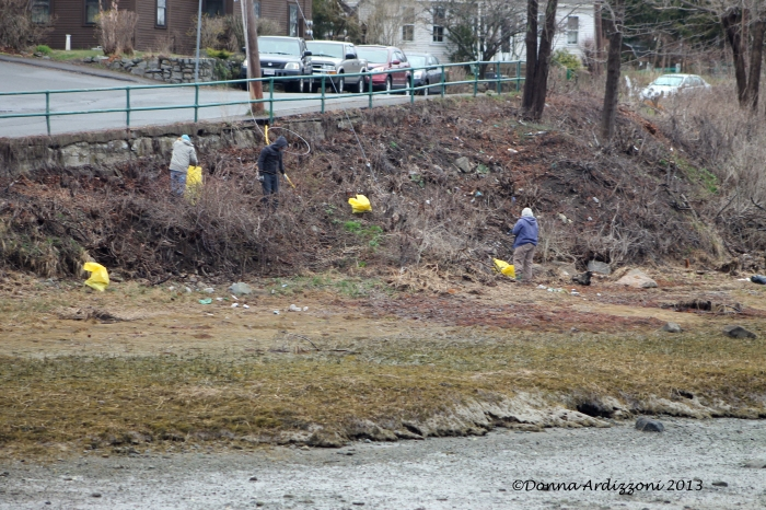 Clean Up at Mill River