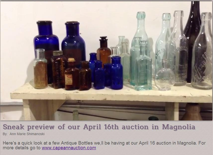 auction bottles
