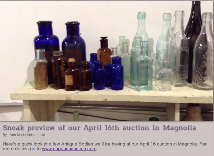 auction bottles