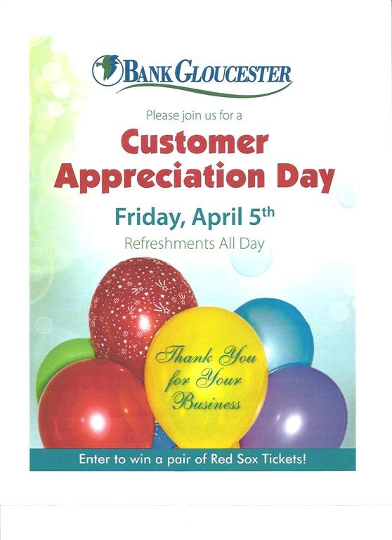 BG Customer Appreciation Day