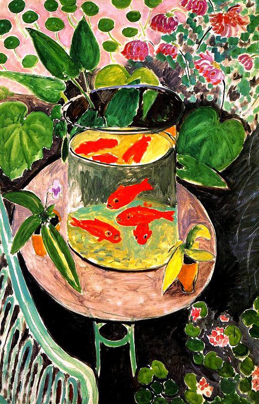 Henri Matisse, Goldfish (1912)