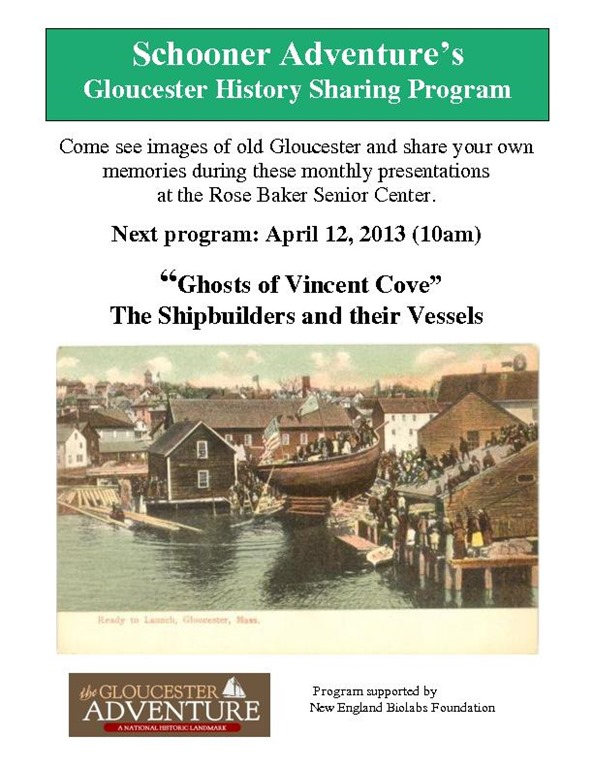 History Sharing Program Poster - Vincent Cove b001