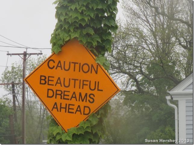 caution beautiful dreams ahead