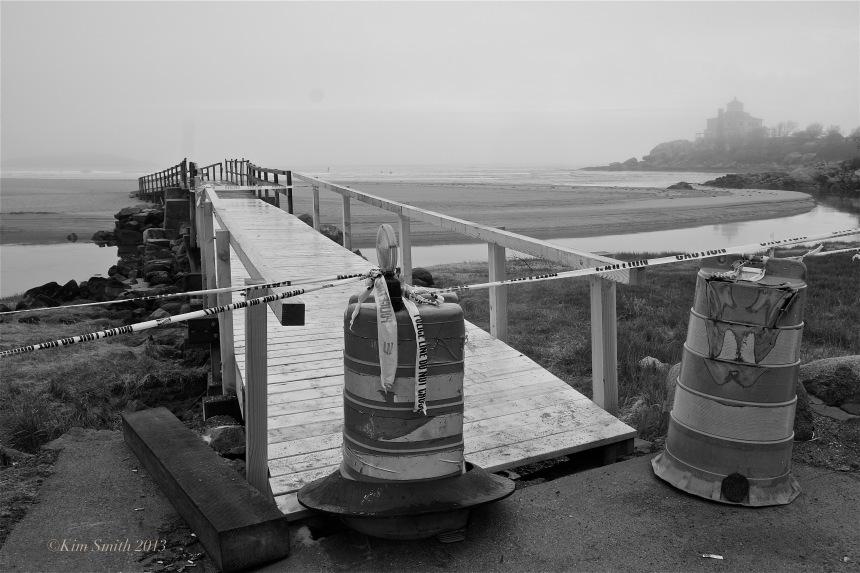 Good Harbor Beach footbridge Gloucester ©Kim Smith 2013