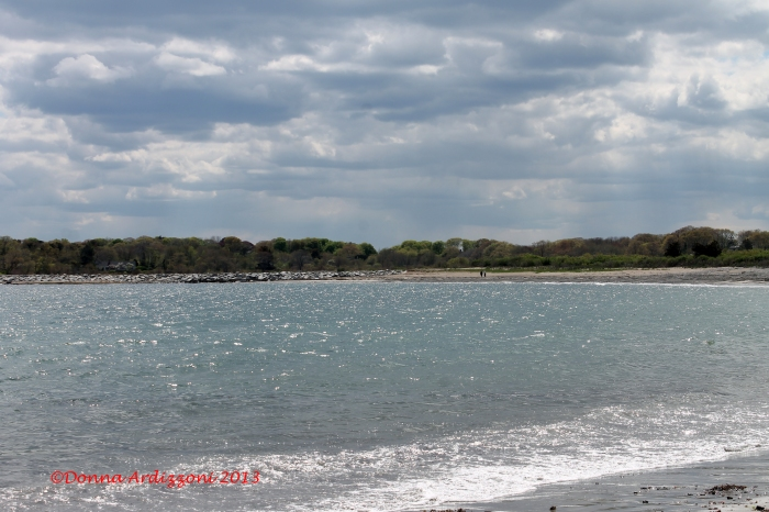 may 14, 2013 Brace Cove on a windy afternoon