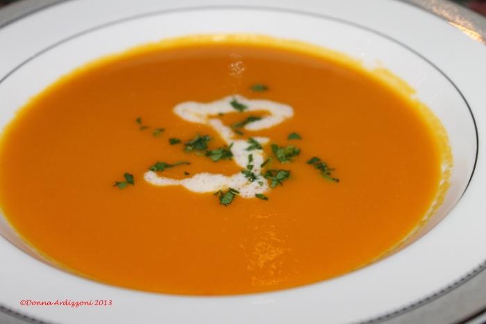 Yummy Carrot Soup