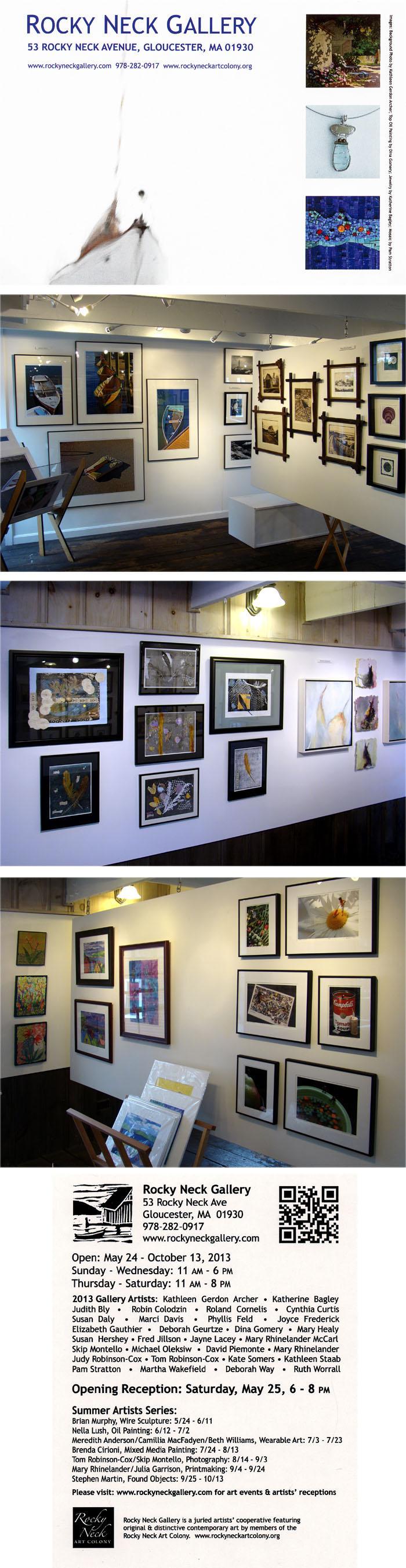 rocky neck gallery opening 2013