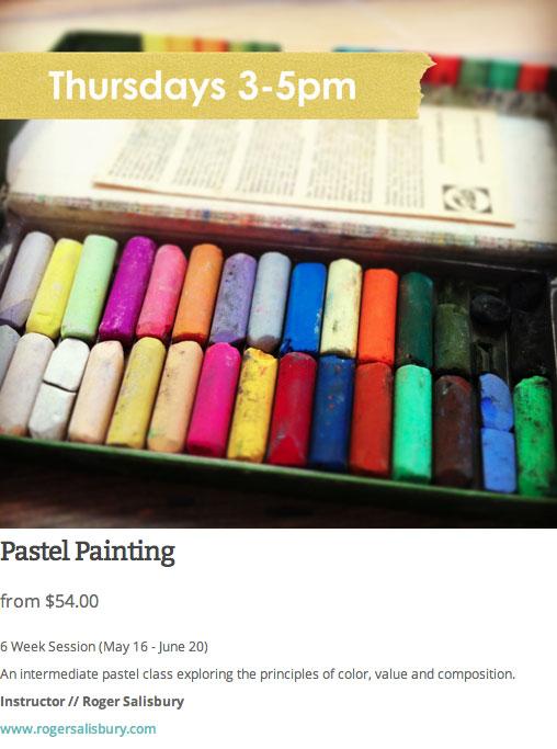 roger salisbury pastel painting