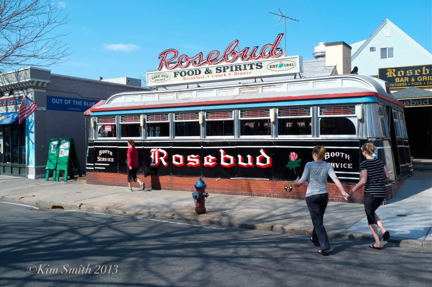 Rosebud Diner Somerville ©Kim Smith 2013