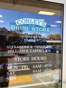 Store hours etc.