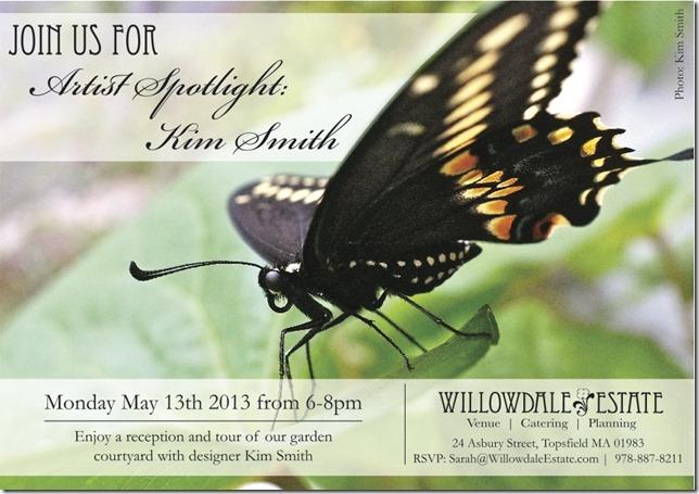 Willowdale Kim Smith Artist spotlight event 2013