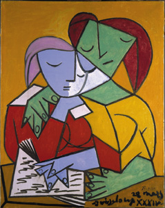 2002-picasso-two_girls_reading