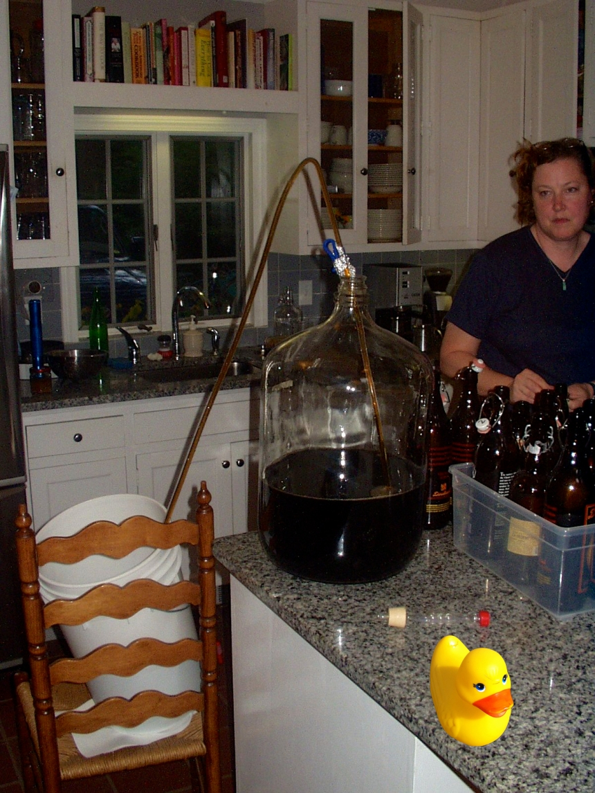 Brewing the old way