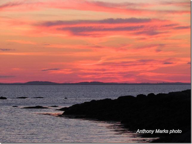 Sunset Plum Cove Beach
