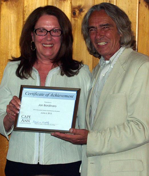 Jan Bordinaro with Ed Collard