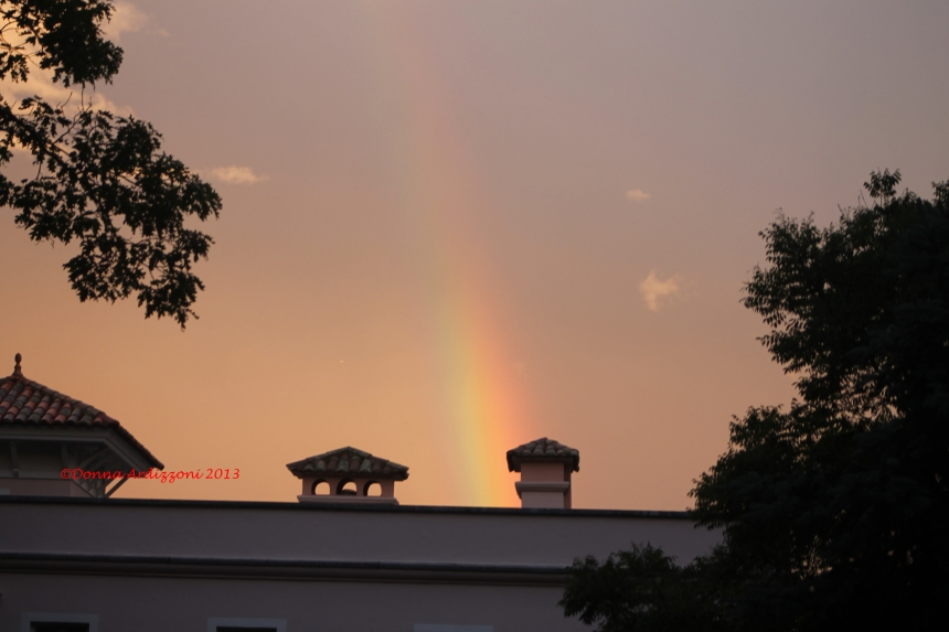 June 17, 2013 Rainbow over Magnolia