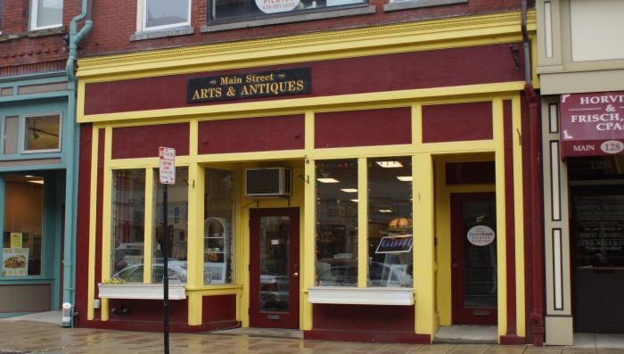 _main street arts and antiques façade