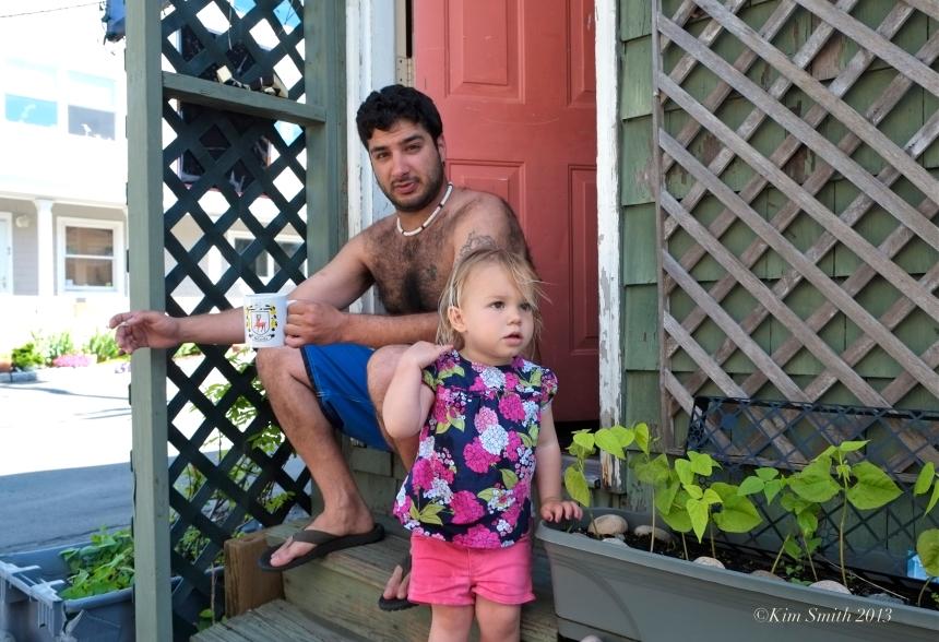 Nick Avelis and Dahlia ©Kim Smith 2013