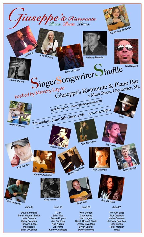 singersongwriter for june