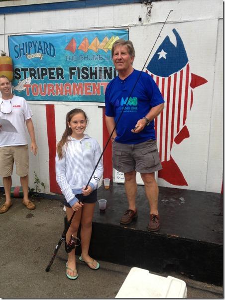 Brianna Ward junior winner