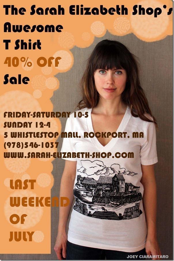 July T Shirt sale_thumb