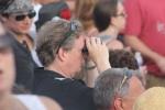 Peter Van Ness in the crowd